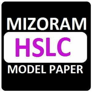 MBSE 10th Model Papers 2019 Mizoram Board HSLC Question Paper 2019 Blueprint
