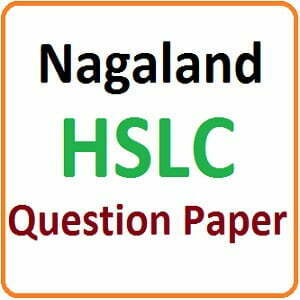 NBSE Madhyamik Model Paper 2019