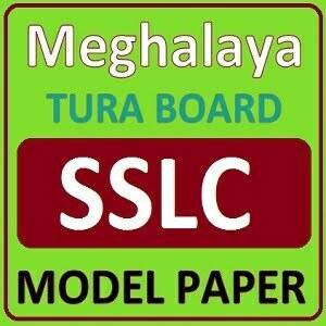 Meghalaya Board SSLC Model Paper 2021