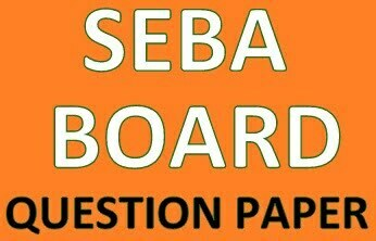SEBA Question Paper 2020