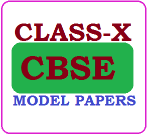 CBSE 10th Model Papers 2020